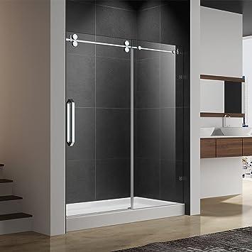 ferdy-03h25 sin marco deslizante para mampara de ducha, 56 – 60 en ...