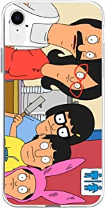 Compatible for iPhone iPhone XR Bob Burgers Family Photo Funny Animated Series TPU Pure Clear Anti-Scratch Cover