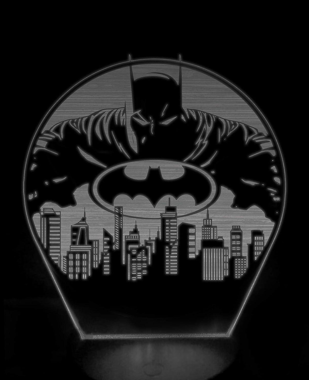 Batman Gotham 3D night light