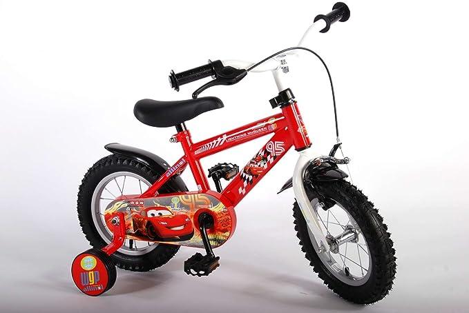 Disney volare11248-ch 12-Inch volare Cars niños Bicicleta: Amazon.es: Juguetes y juegos