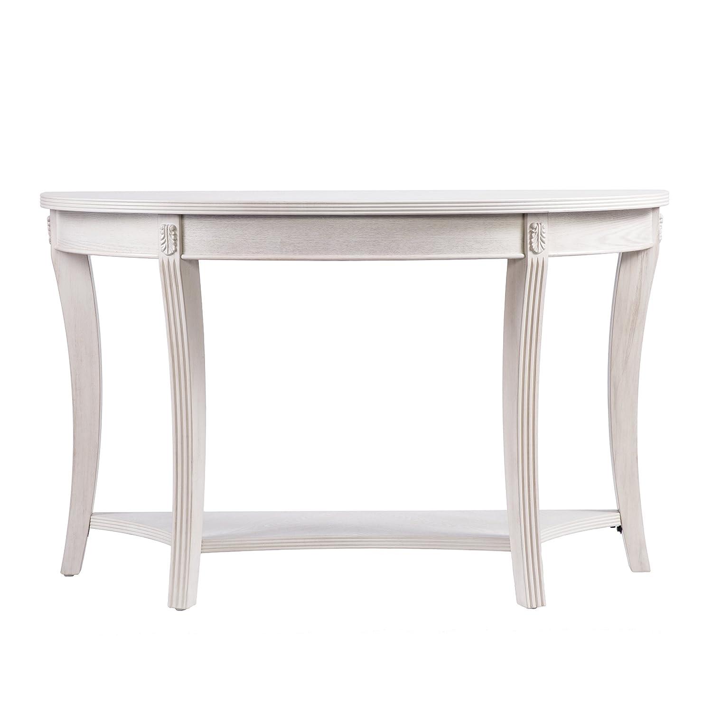 Amazon Furniture HotSpot – Demilune Console Table Whitewashed