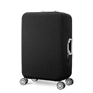 Elástico Funda Protectora de Maleta Cubierta de Equipaje de Viaje Maleta Funda Protectora Luggage Cover, Negro (S): Amazon.es: Equipaje