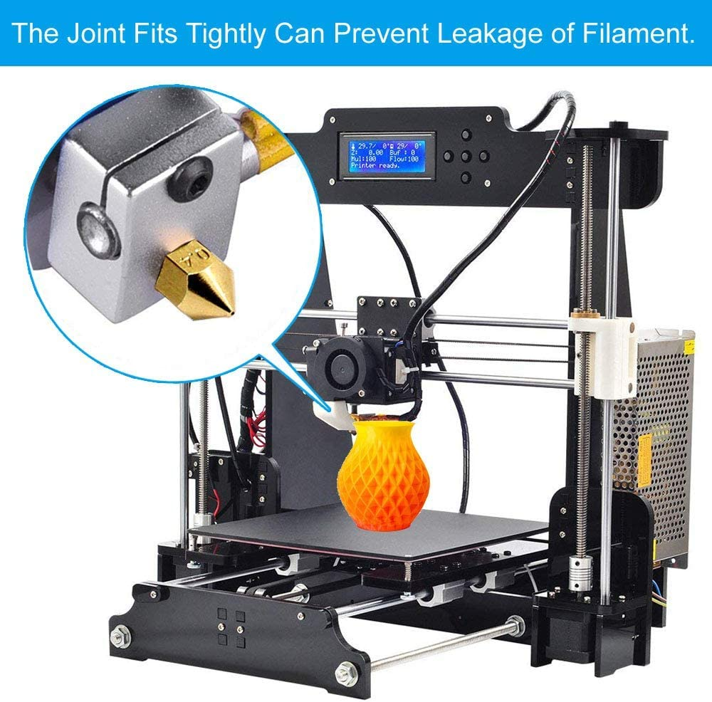 Upgrade Wear Resistant 0.4Mm Mk8 Nozzles 3D Extruder Nozzle For 3D Printer Makerbot Creality Cr-10 Shumo 10Pcs Cr-10 Nozzle