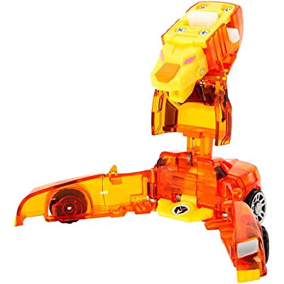 Mecard Prince Fion Mecardimal Figure, Orange: Toys & Games