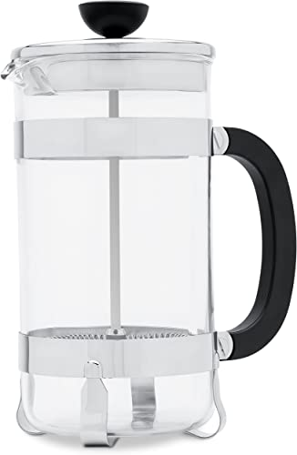French Press Coffee Maker Heat Resistant Borosilicate Gla