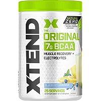 Scivation XTEND Natural Zero BCAA Powder Blueberry Lemonade | Free of Artificial...