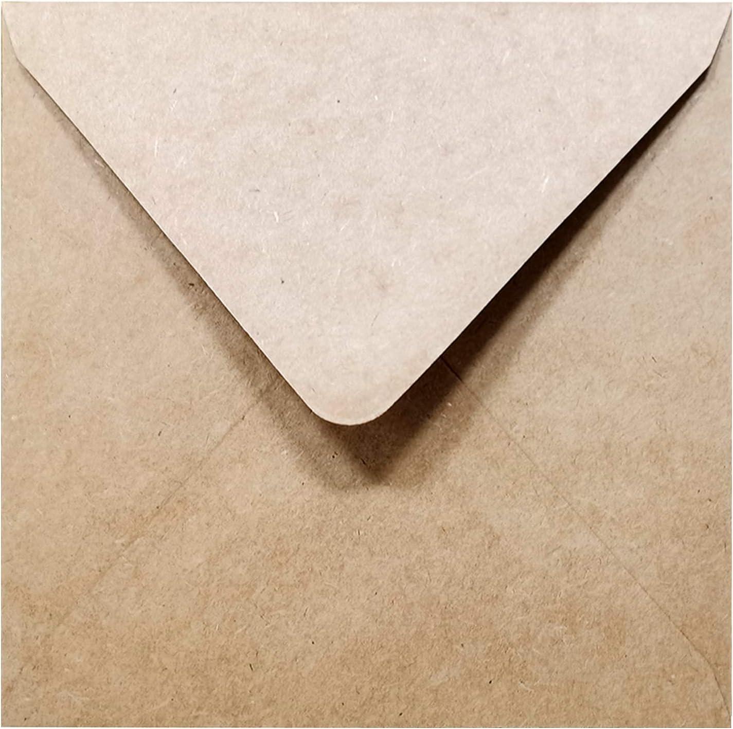 "White Square Envelopes 5.5/"" x 5.5/""  Thank You Wedding RSVP Invitation  Lot of 50"