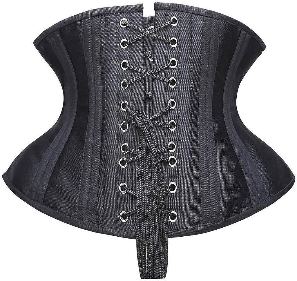 SHAPERX Mujer Torso Corto Malla Entrenador de Cintura Waist Trainer Cors/é Waist Cincher
