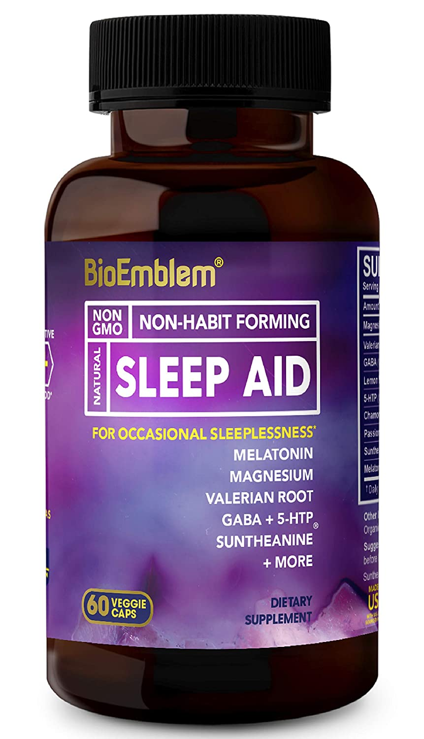 Natural Sleep Aid for Adults