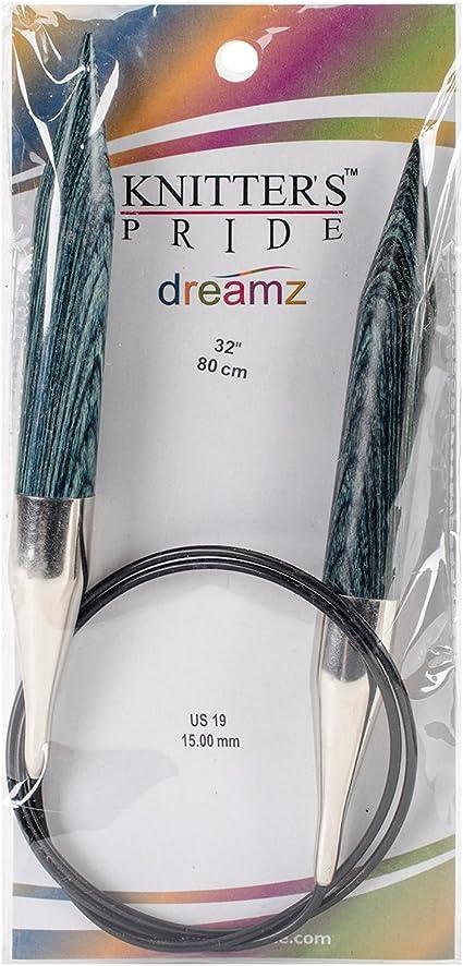 "Knitter/'s Pride Basix Fixed Circular Needles 32/""-Size 3//3.25mm"