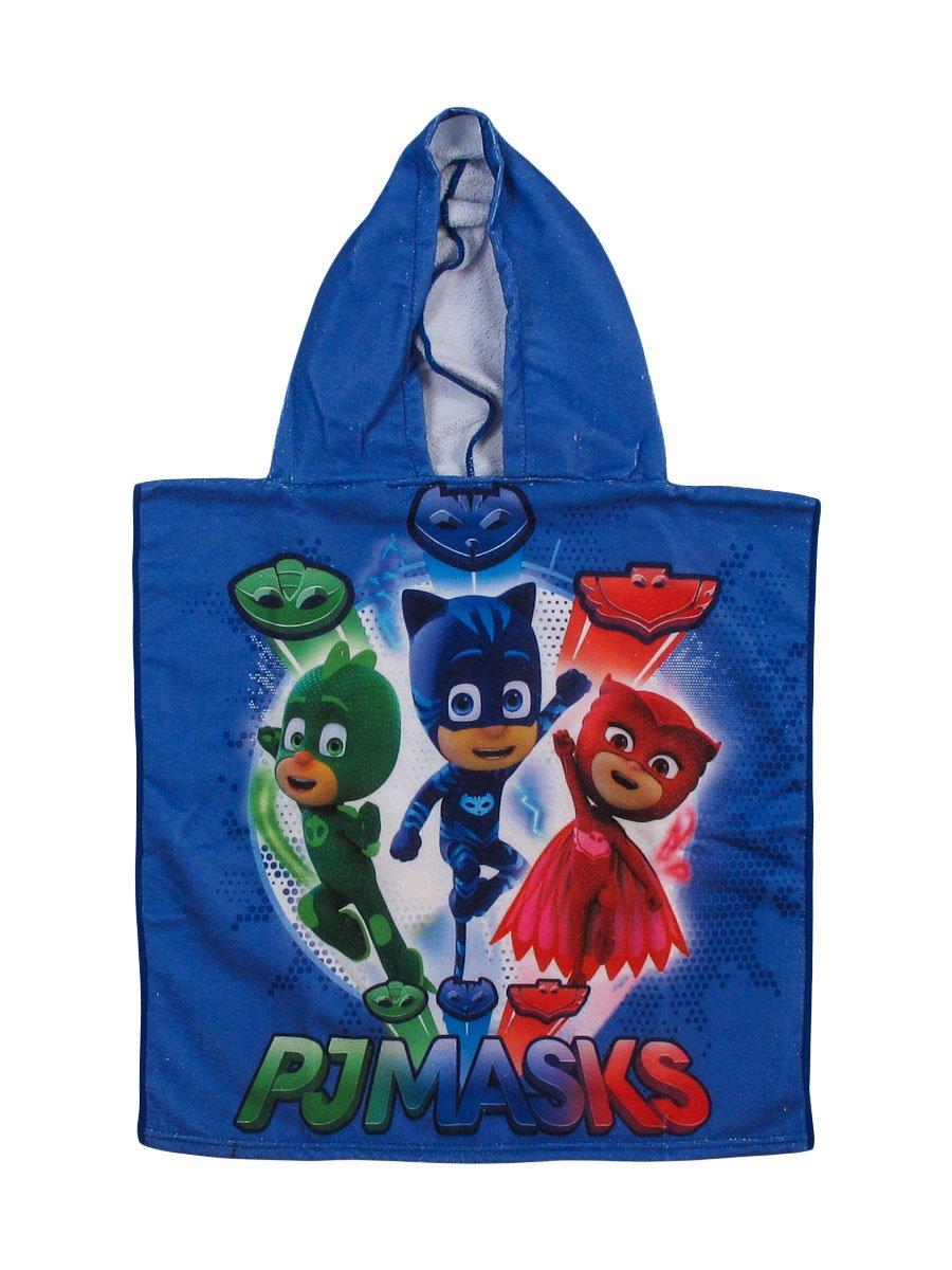 Coton Gluglu Bain Serviette De Plage Bibou PJ Masks Pyjamasques A95785 Cape de Bain Piscine Yoyo