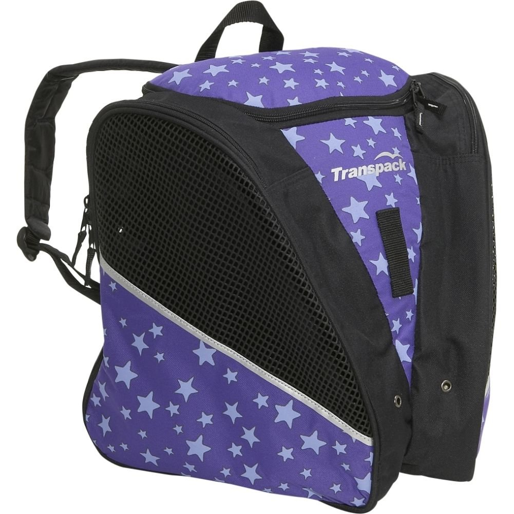 Transpack Ice スケートバッグ 紫の Star