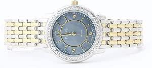ساعة اوغست ستاينر كاجوال للنساء بعرض انالوج وعقارب ستانلس ستيل - AS8027TTGB