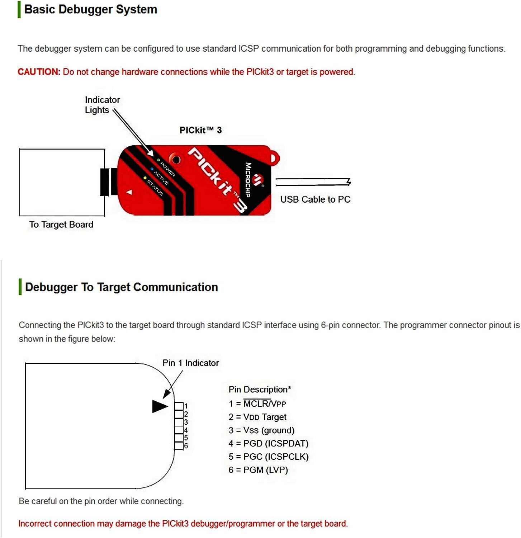 pickit 3 circuit diagram venel mplab pickit3  pic programmers   debuggers pickit3 in  venel mplab pickit3  pic programmers