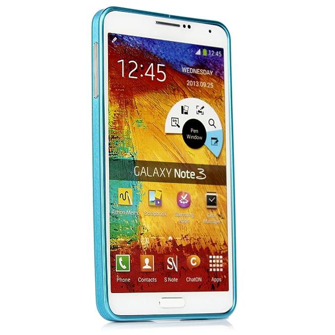 Aluminio marco ultrafino de carcasa para Samsung Galaxy Note 3 Metal Bumper nuevo