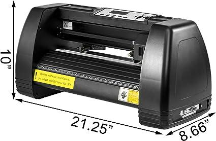 VEVOR Máquina Cortadora de Vinilo de 14 Pulgadas, Letrero de Vinilo Plotter de Corte, Vinilo Cortador, Letrero Impresora Sublimación Negro, Impresora Sublimación 35cm (375 Manual): Amazon.es: Electrónica