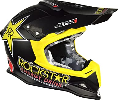 just1 J12 Rock Star Carbon Casco
