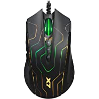 A4 Tech X89 SİYAH-LABİRENT OPTİK 2400 DPI Gamer Mouse