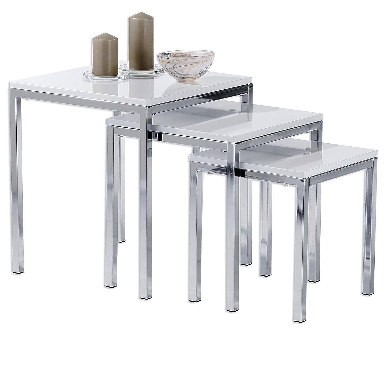 IDIMEX Tischset LUNA Dreisatztische