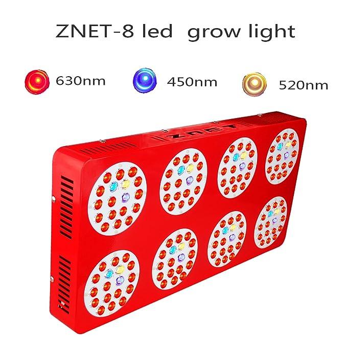 2 opinioni per 600W HPS Spettro completo di sostituzione ZNET8 Lampada Grow Led per piante