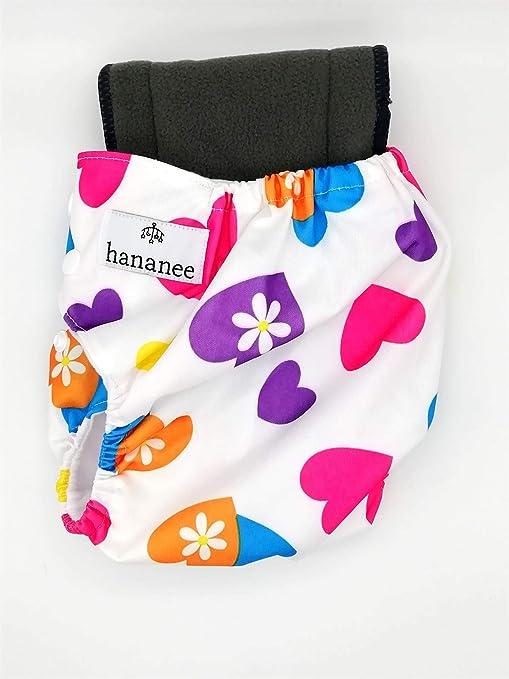 Pañales de tela para bebés Hananee con pañales de carbón de bambú ...