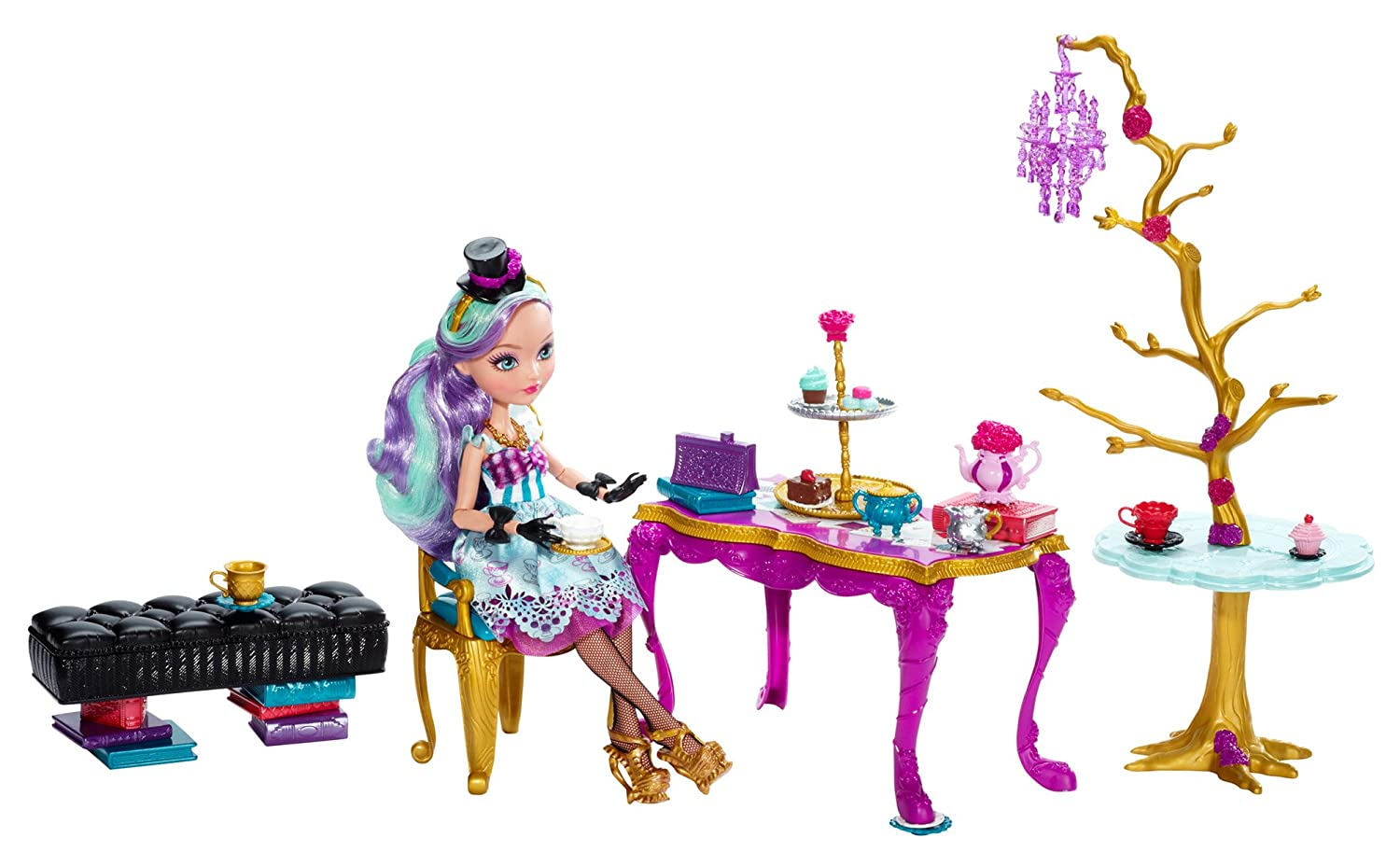 Mattel Ever After High BJH36 - Tee-tastisches Party Set, inklusive ...