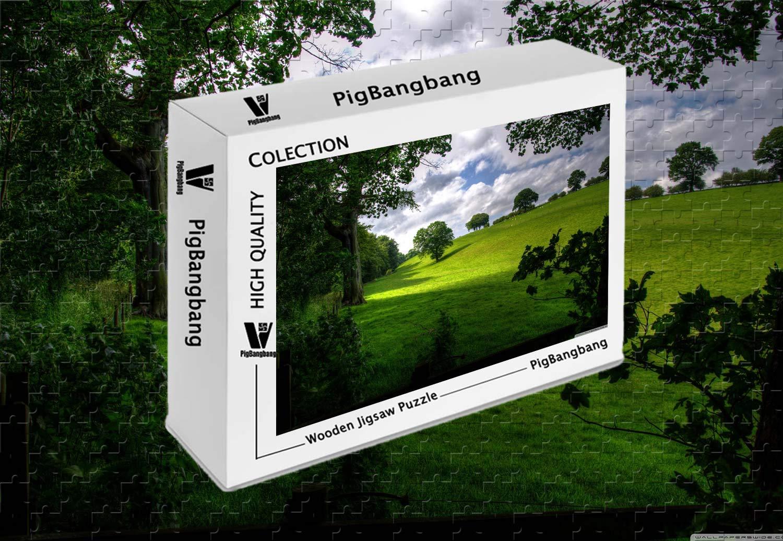 【高額売筋】 PigBangbang (34.4、バスウッドの明るいカラフルなアート絵 - B07HY7W6BR ランドスケープ - 1500ピースジグソーパズル - (34.4 X 22.6インチ) B07HY7W6BR, 車屋本店:bcd977fa --- sinefi.org.br
