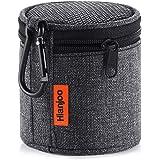 Hianjoo Bluetooth Lautsprecher Tasche für Anker SoundCore Mini/Betron KBS08 BPS60/ EasyAcc Mini Bluetooth Lautsprecher, Tragbare Drahtlose Bluetooth Lautsprecher Tasche Hülle mit Karabiner, Schwarz
