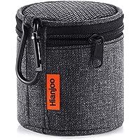 Bluetooth Speaker Case, Hianjoo Speaker Bag for Anker SoundCore mini/Betron KBS08 BPS60/EasyAcc Mini Wireless Speaker, Protable Mini Bluetooth Speaker Carry Case With Carabiner - Black