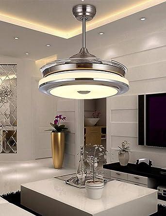 ZPSPZ-Invisible, ventilador de techo, Ventilador, lampara de salon ...