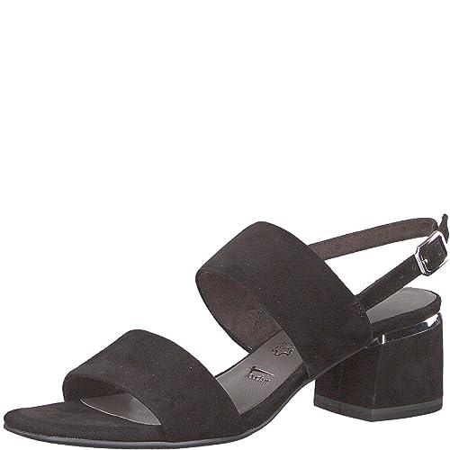 Tamaris 1 1 28026 30 Damen Sandale, Sandalette, Sommerschuhe für die modebewusste Frau