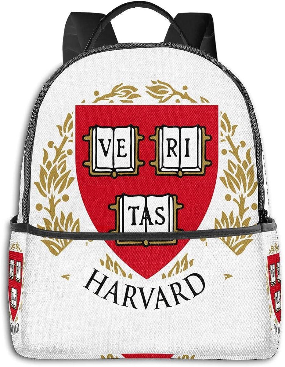 Backpack Travel Harvard DIY School Bags Shoulder Laptop Backpack Men Ladies Girls Schoolbags