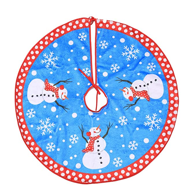 Twocc-Delantal Redondo de Navidad Falda de Alfombra Alfombra de ...