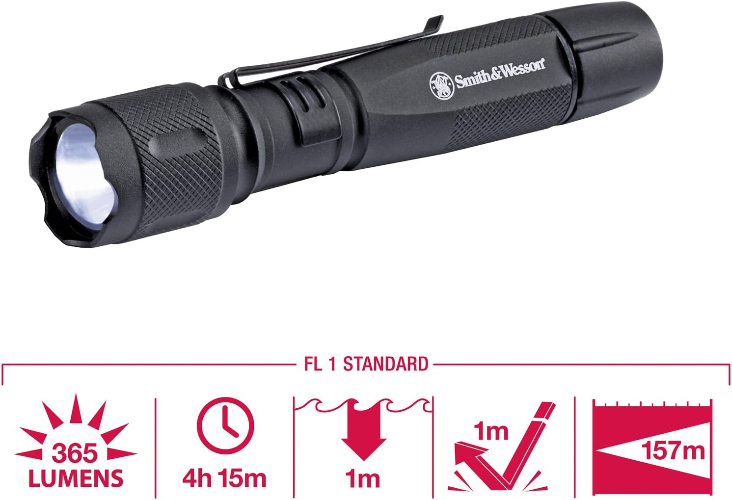 Smith and Wesson Galaxy Elite 2 AA CREE LED Tactical Flashlight