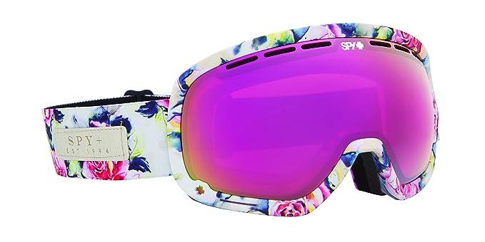 Gafas de esquiar con cristales rosa neón spy marshall