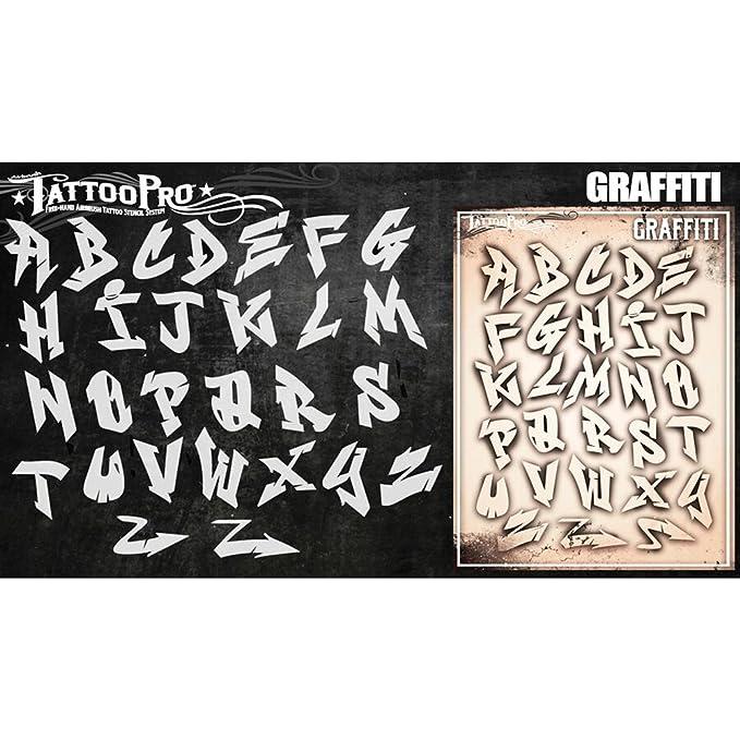 Plantillas de tatuaje Pro - máquina de escribir de la fuente: Amazon.es: Hogar