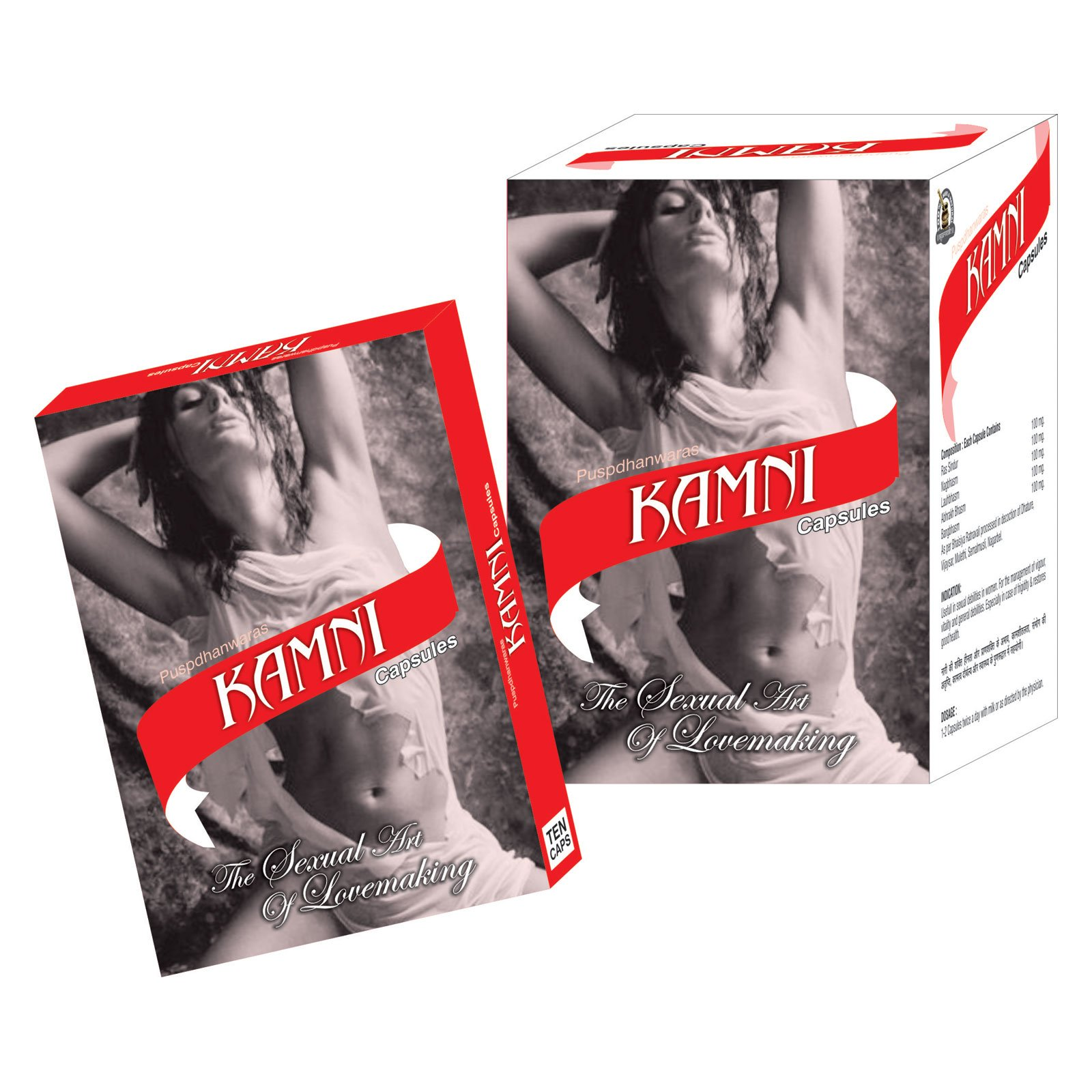 Ayurved Research Foundation Kamni Capsule Herbal Supplements for Low Stamina Problem in Women 1 Pack of 60 Capsules