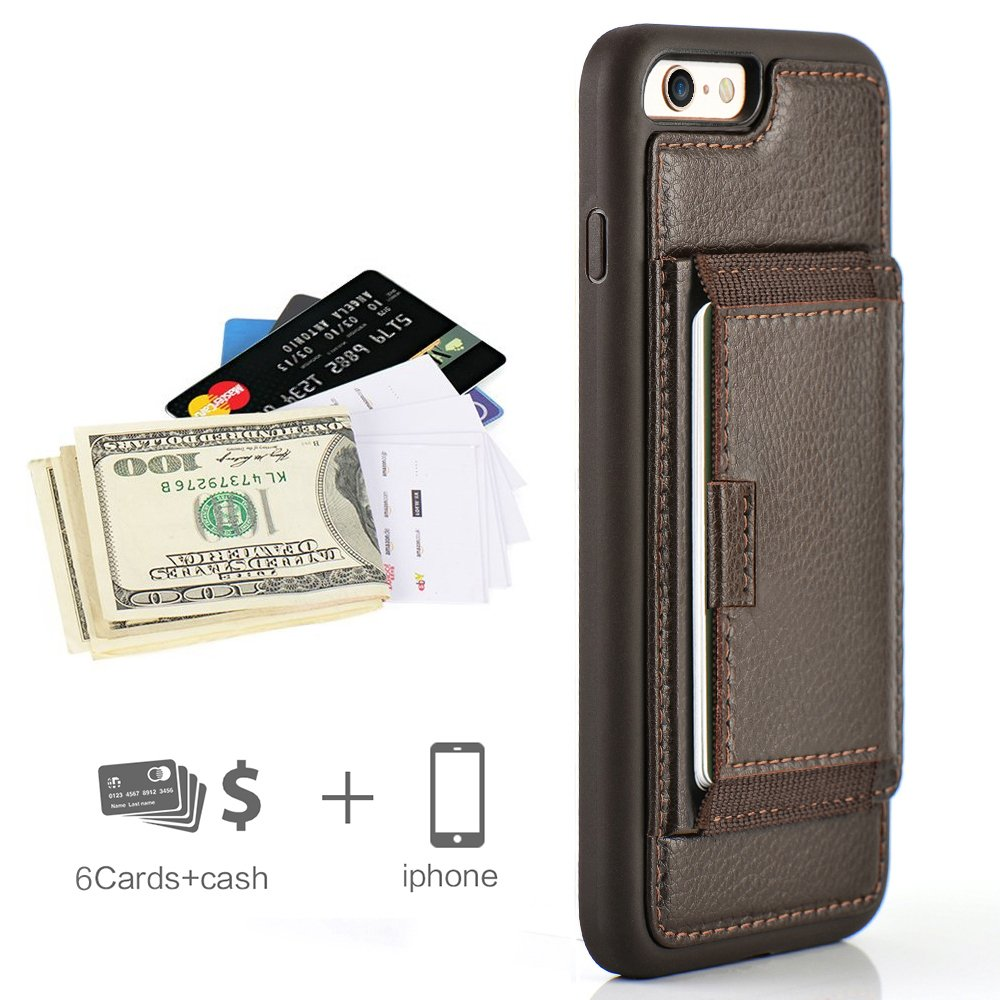 Leather ZVE Shockproof Protective 5 5inch Image 2