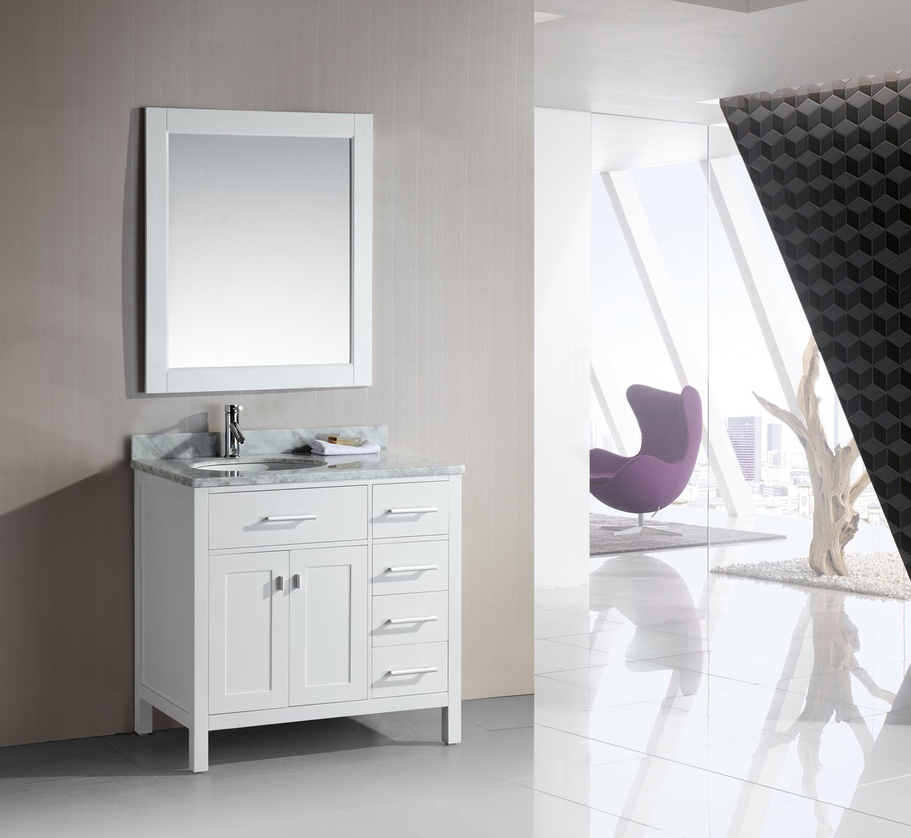 zoom with modern cream loading marfil inch single vanity and bathroom home marble