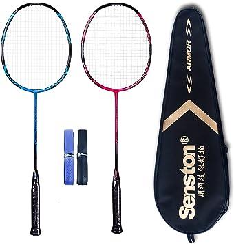 Amazon.com: Senston - Juego de raquetas de bádminton de ...