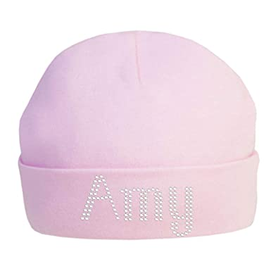 089b426b Varsany Personalised Baby HAT Super Soft Born hat Essential Cute 100% Cotton  Toddler hat: Amazon.co.uk: Clothing