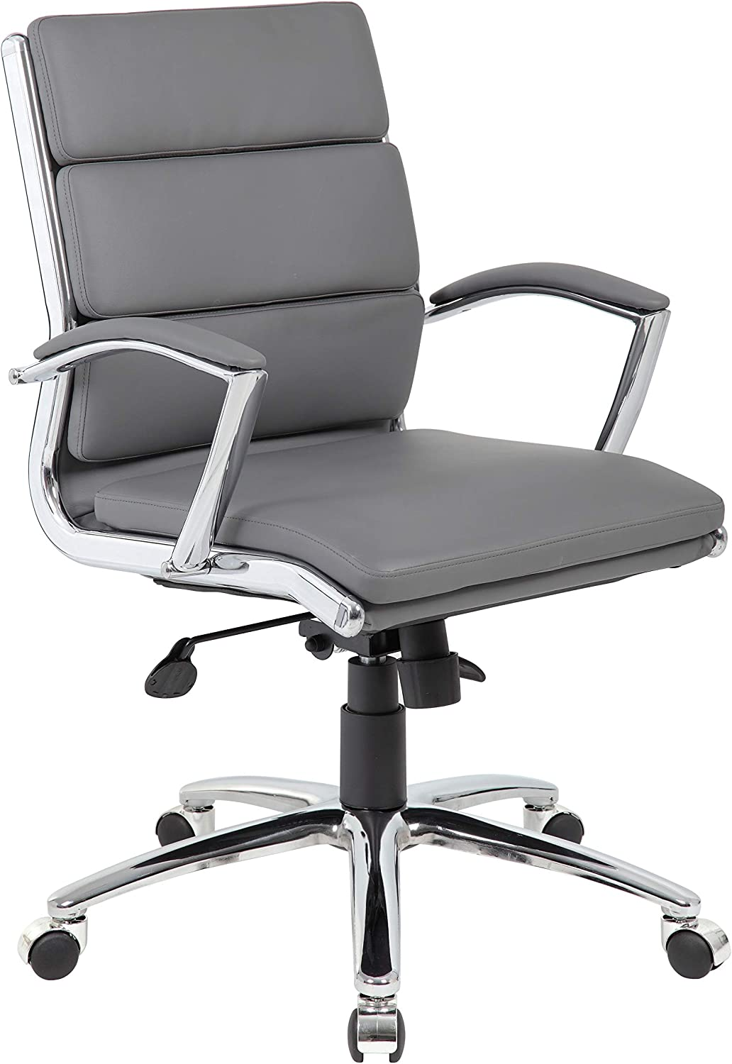 Boss Office Products (BOSXK) B9476-GY Office Chair, Grey