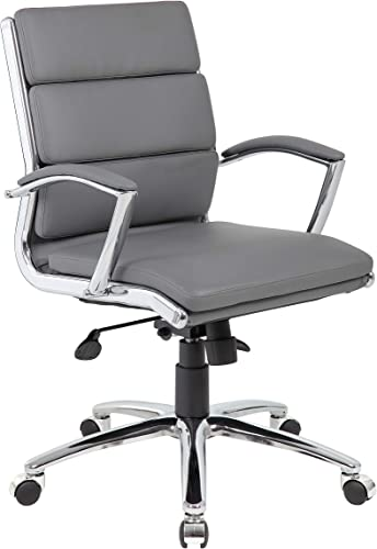 Boss Office Products BOSXK Office Chair, Grey