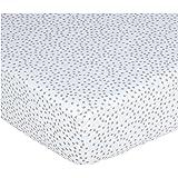 Pehr Designs Dot Crib Sheet Light Grey
