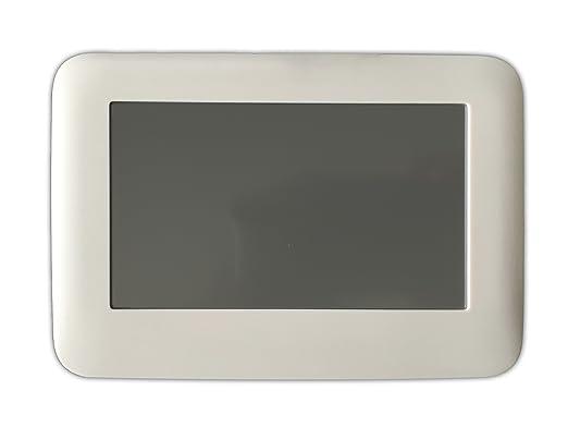LKM Security lkm-trmth02b Termostato WiFi táctil, blanco: Amazon.es: Bricolaje y herramientas
