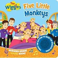 The Wiggles: Five Little Monkeys: Nursery Rhyme Song Book