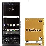 【日本正規代理店品】BlackBerry Priv Black Android SIMフリースマートフォン ブラックベリー 32GB スライド QWERTY キーボード caseplay FOX PRD-60028-037 & IIJmio エントリーパッケージセット