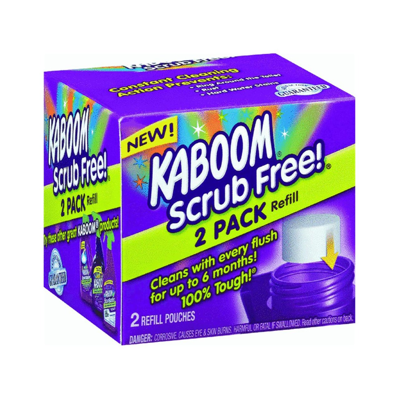 Amazon.com: Kaboom With OxiClean Scrub Free! Refill, 2 Ct: Home U0026 Kitchen