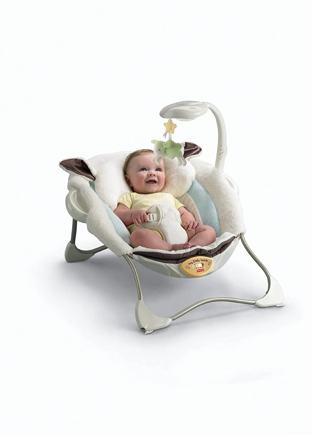 Amazon.com : Fisher-Price My Little Lamb Infant Seat : Infant ...