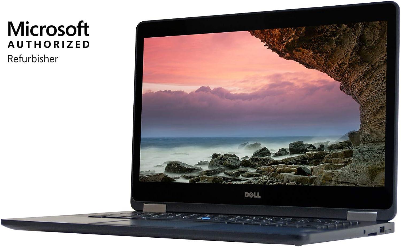 Dell Latitude E7470 14 inches Laptop, Core i7-6600U 2.6GHz, 16GB RAM , 512GB Solid State Drive, Windows 10 Pro 64Bit, CAM (Renewed)